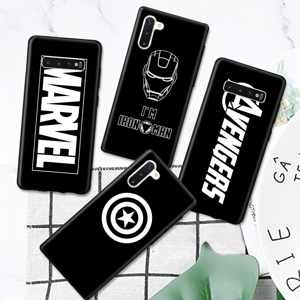 For Samsung A8 A5 J3 J5 A3 A7 2018 Avengers Pattern Hard Cover