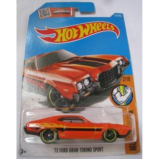 Xe mô hình Hot Wheels '72 Ford Gran Torino Sport DHR33