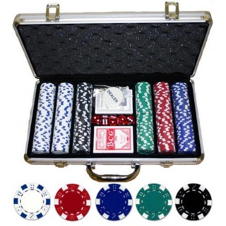 Phỉnh poker 300 chip loại không số hàng nhập khẩu