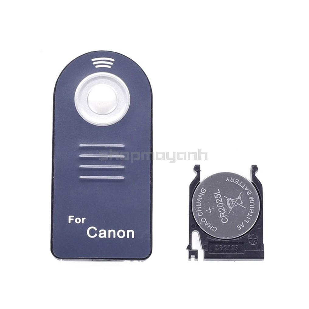 Điều khiển Remote Canon 700D 750D 60D 70D 5D2 5D3... - 1nút thumbnail