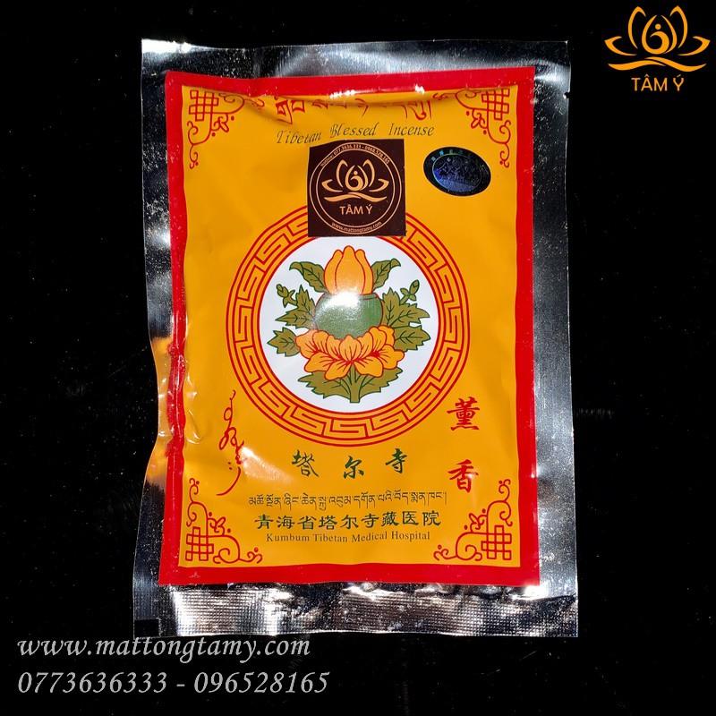 [Tu viện Kumbum Tây Tạng] Gói Bột Xông Chiêu Tài, Tẩy Uế Trừ Tà, Tịnh Hoá Khí Xấu, Mang Lại May Mắn Tà