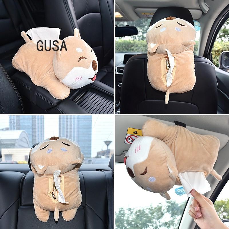 Túi Đựng Khăn Giấy Hình Chú Chó Dễ Thương