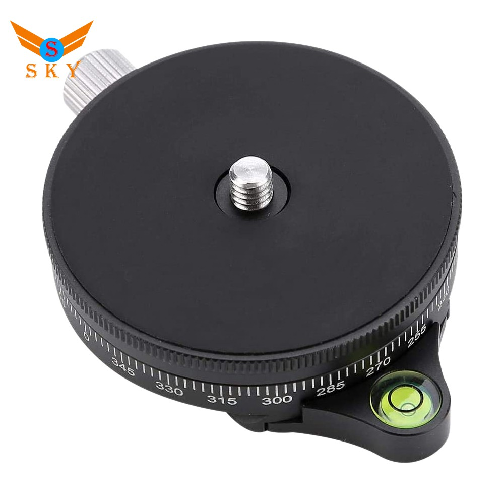 Ready Stock Tripod Base 360° Disc Tripod Quick Release Plate for DSLR Mirrorless M7VN