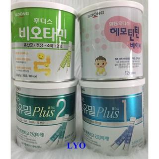 Hình ảnh Sữa non Ildong plus số 1 & 2, men ildong, sắt ildong nội địa Hàn Quốc đi air (Bán sỉ từ 6 hộp)-0