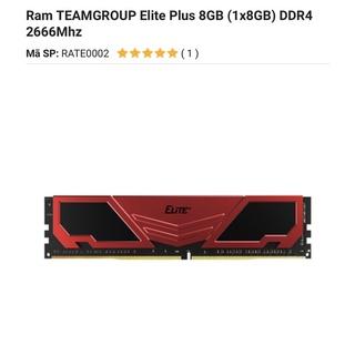 Ram DDR4 Team 8G 2400 Elite thumbnail