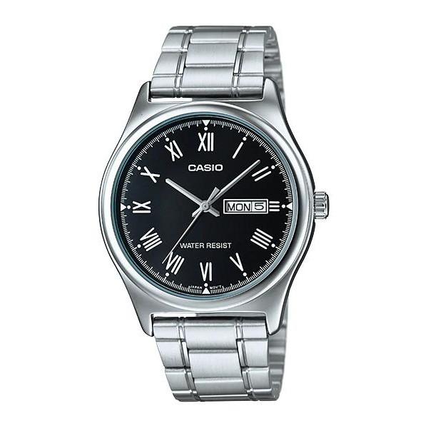 Đồng hồ nam dây kim loại chính hãng Casio MTP-V006D-1BUDF
