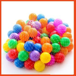 [ FREE SHIP 150K ] Túi 50 bóng nhiều màu sắc cho bé thỏa sức vui chơi