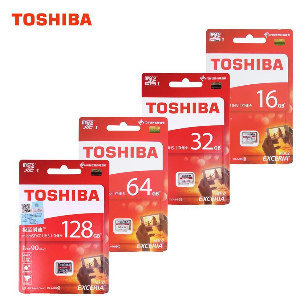 Thẻ nhớ Micro SD Toshiba 90MB/s Class 10 - Bảo hành 5 năm Chính hãng