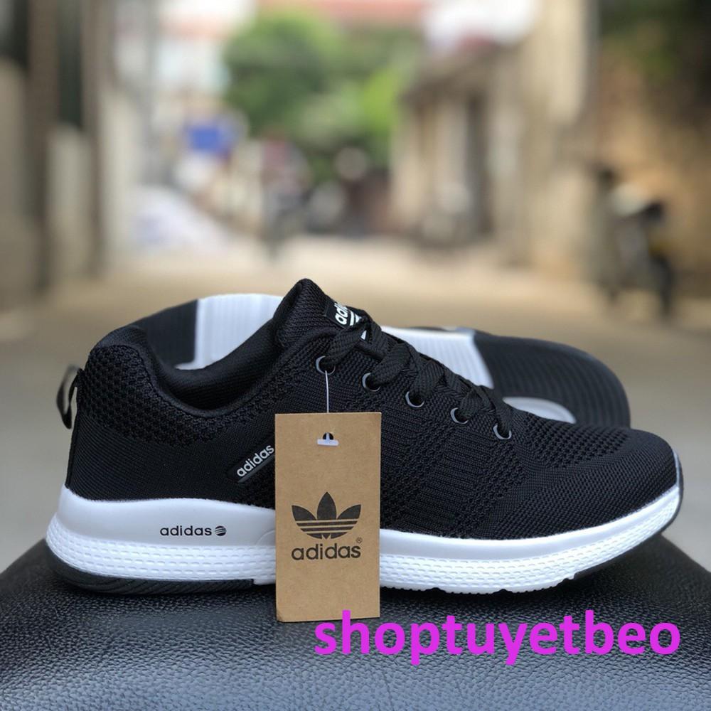 Giày Thể Thao Nam Adidas Màu Đen Mẫu Mới 2019