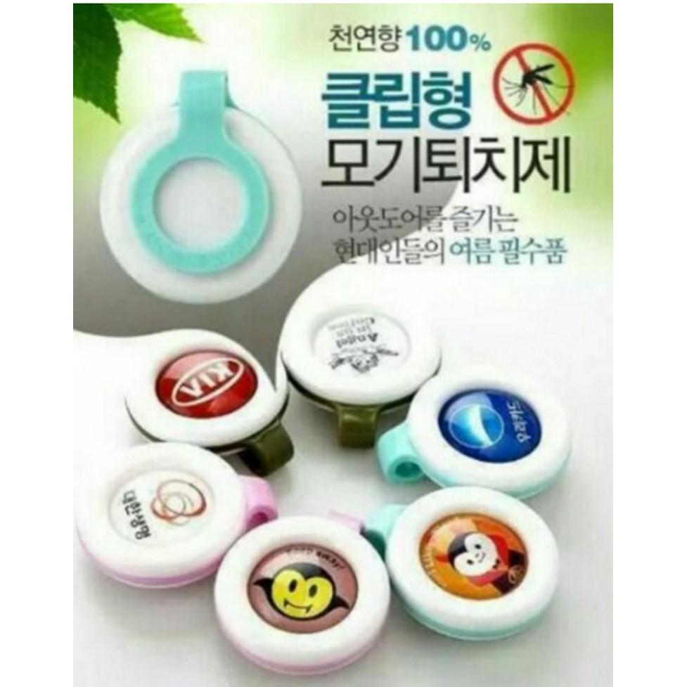 Combo 20 kẹp chống muỗi Hàn Quốc.
