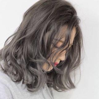 Thuốc nhuộm tóc màu khói + tặng kèm trợ dưỡng thumbnail