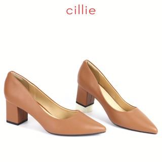 Giày công sở nữ mũi nhọn cao 5cm Cillie 1018