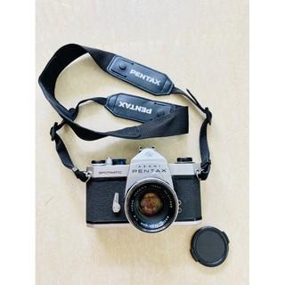 Máy ảnh film Pentax Spotmatic  + lens Yashinon 50mm f2 ngàm M42