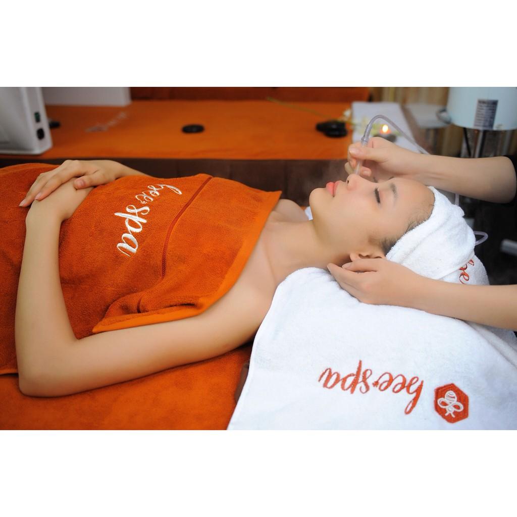 Hồ Chí Minh [E-Voucher] - Chăm sóc da mặt giúp nâng cơ+ oxy trẻ hóa+Chạy Vitamin C tại BEE Spa