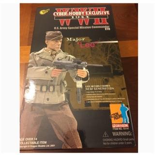 "1/6 world War 2 US Army Commander ""Major Lee"""