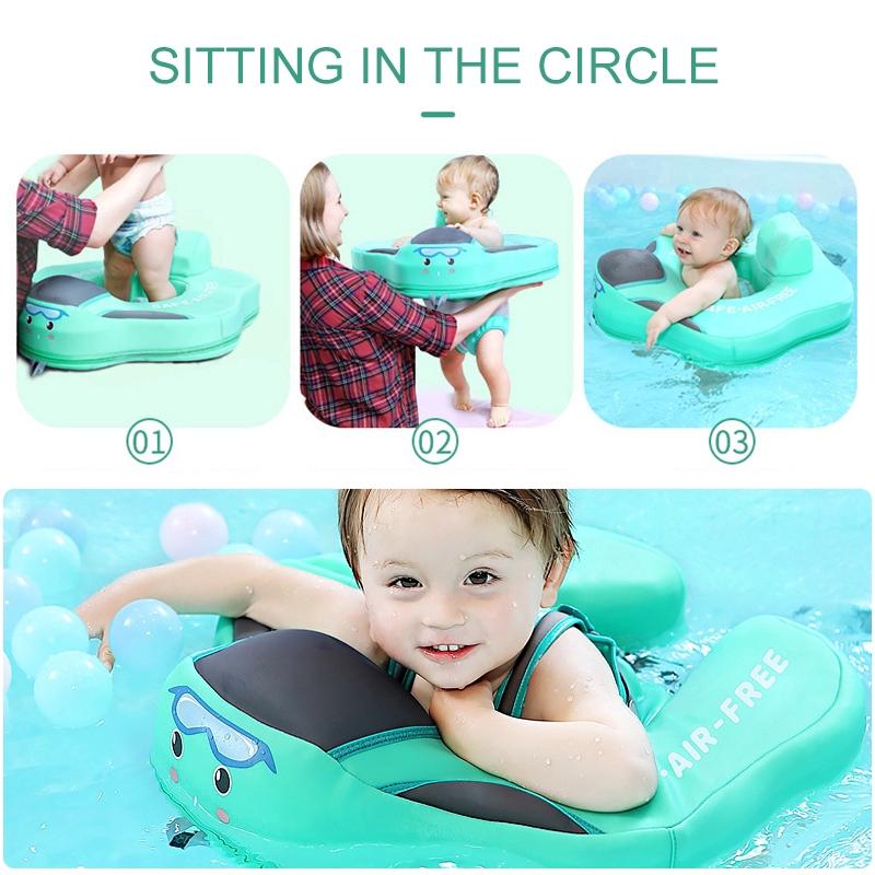 Phao bơi chống lật thiết kế nhiều kiểu cho trẻ 0-6 tuổi
