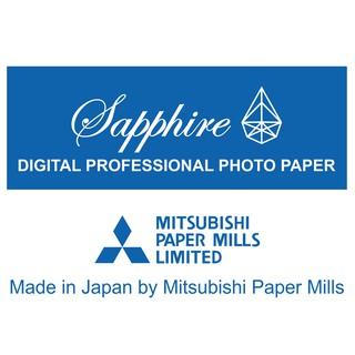 Giấy in ảnh Sapphire Mitsubishi Japan 15x20cm Glossy 1 tập 40 tờ