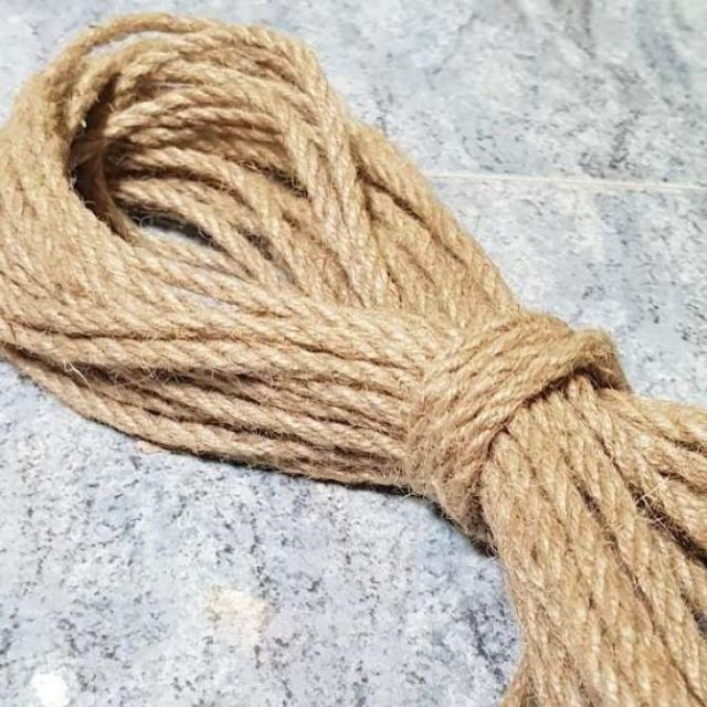 Cuộn 30m dây thừng size 5mm trang trí hanmade