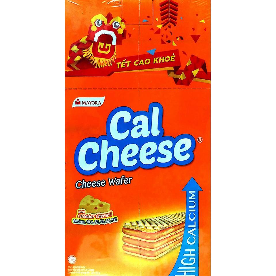 Bánh xốp phô mai Cal Cheese Mayora hộp 20 x 8.5g - 2439320 , 785480554 , 322_785480554 , 28000 , Banh-xop-pho-mai-Cal-Cheese-Mayora-hop-20-x-8.5g-322_785480554 , shopee.vn , Bánh xốp phô mai Cal Cheese Mayora hộp 20 x 8.5g