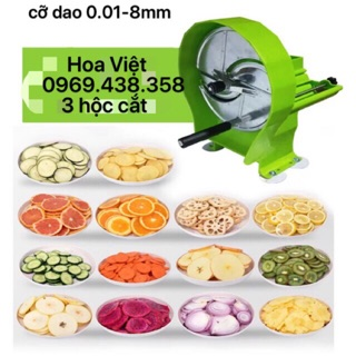 Máy thái hành lá - cắt lát rau củ quả - cắt lát trái cây