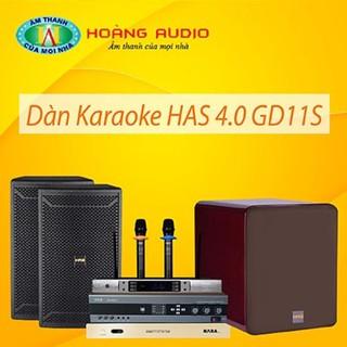 Bộ dàn karaoke gia đình HAS 4.0 GD11S thumbnail