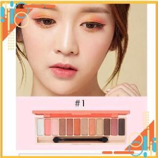[Dùng là Xinh] Bảng Phấn Mắt 10 Màu Lameila, Nhũ Phấn Mắt 10 Màu Lameila Play Color Eyes thumbnail