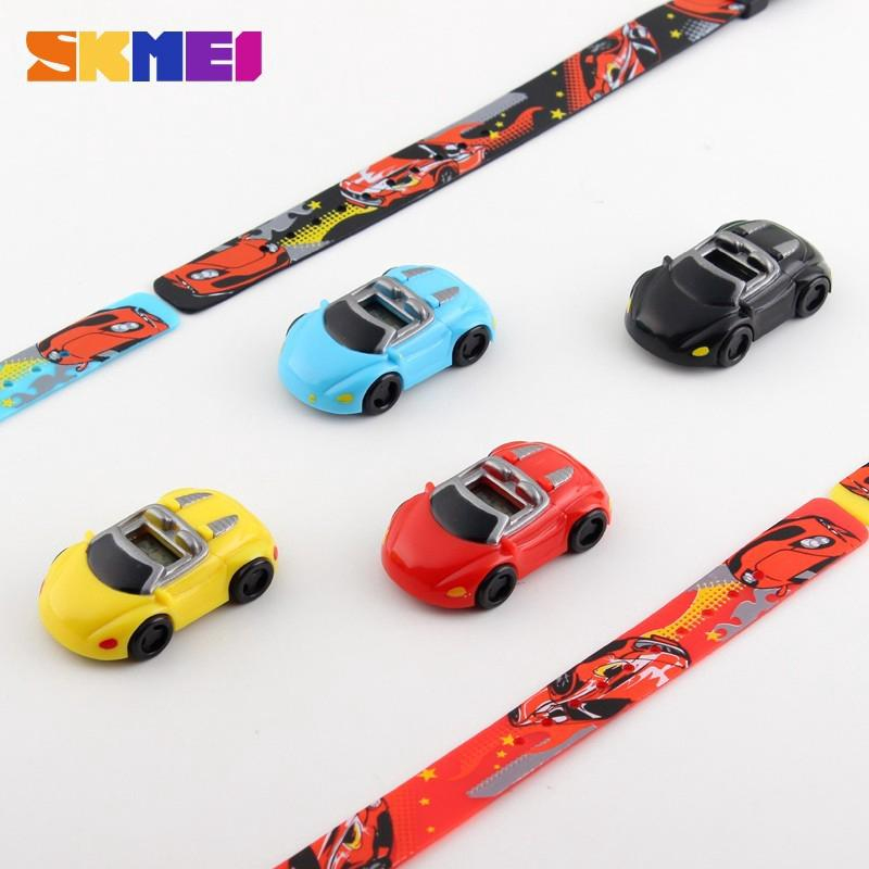 Đồng hồ SKMEI 1241 thiết kế hình xe ô tô cho bé trai và bé gái