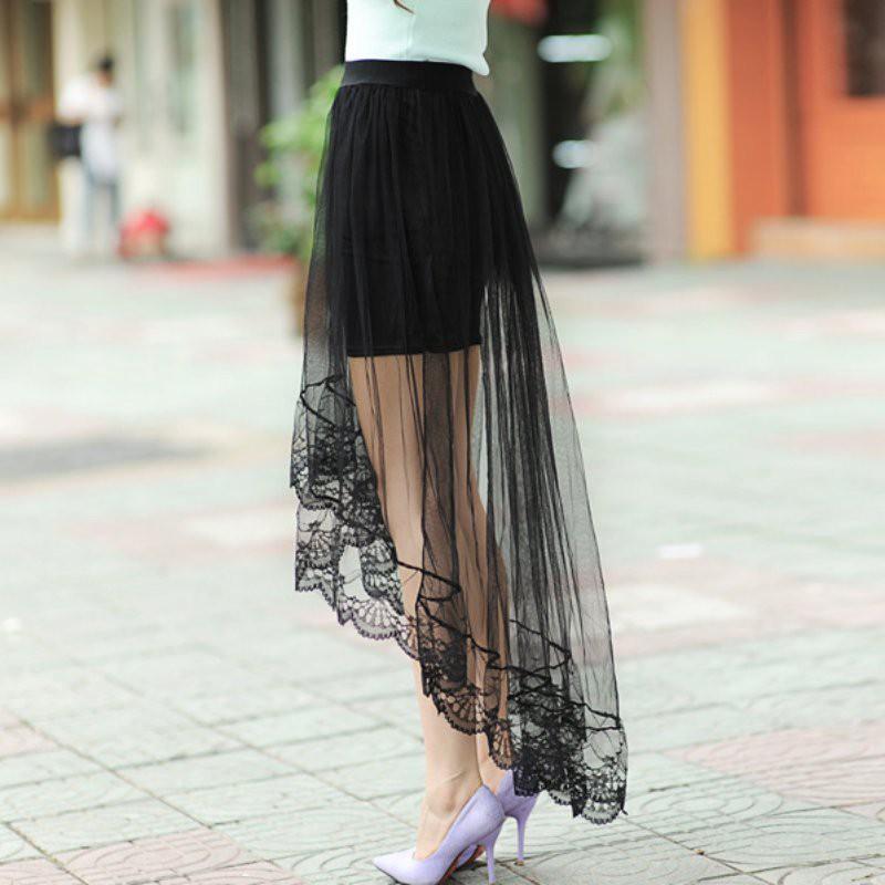FREESHIP ĐƠN 99K_ Chân váy Maxi 2 lớp xinh xắn quyến rũ cho nữ