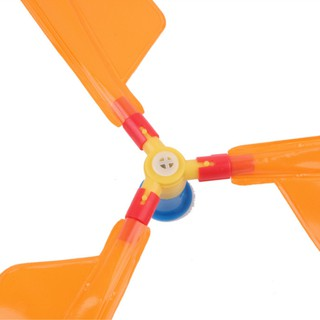 ✎FAH✐Traditional Classic Balloon Helicopter Kids Party Bag Filler Flying Toy Child