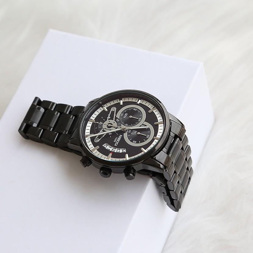 [Tặng vòng tay]Đồng hồ nam NIBOSI chính hãng NI2309-1.04R thời trang cao cấp