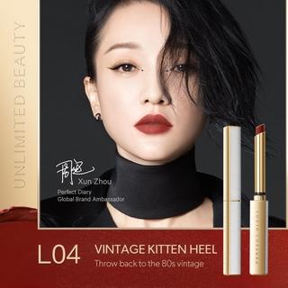Hình ảnh Set 3 Son Rouge Slim Lì Perfect Diary Màu Đậm Chất Lượng Cao Valentine's Edition 2.4g-6