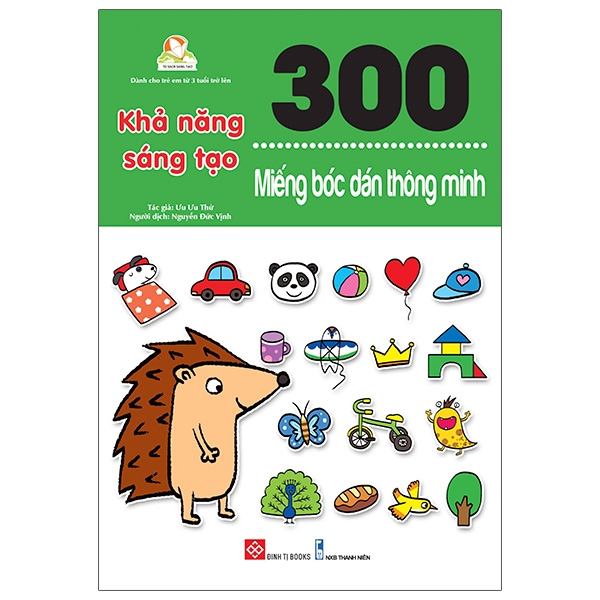 Sách - 300 Miếng Bóc Dán Thông Minh - Khả Năng Sáng Tạo
