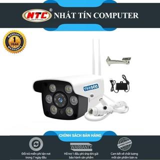 Camera IP Wifi Trong nhà Ngoài trời Yoosee GW-216S đàm thoại 2 chiều (Trắng)