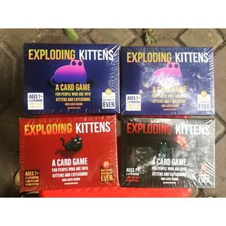 Mèo nổ Exploding Kittens- ảnh thật 100%-giá hạt dẻ B[AH96]