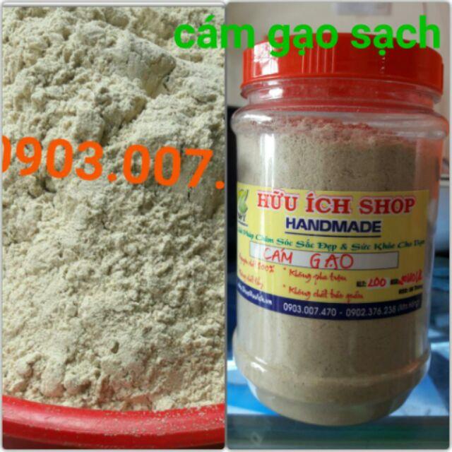 Cám gạo quê đắp mặt tắm body nguyên chất 100%