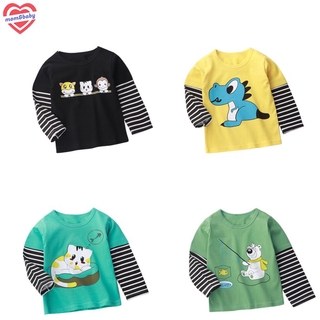 Long-sleeve Top for 0-5 Years Old Cotton Children's Bottoming Shirt