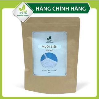 Muối biển tinh khiết 500g Viet Healthy, Muối biển viethealthy nguyên chất, giàu khoáng chất tự nhiên, không tẩy trắng