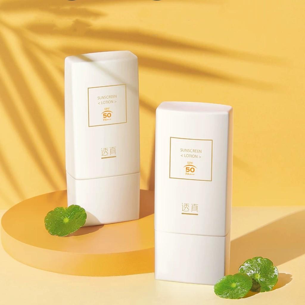 Kem chống nắng LUCENBASE vật lí kiêm hóa học Sunscreen SPF50 PA+++ LUCB28
