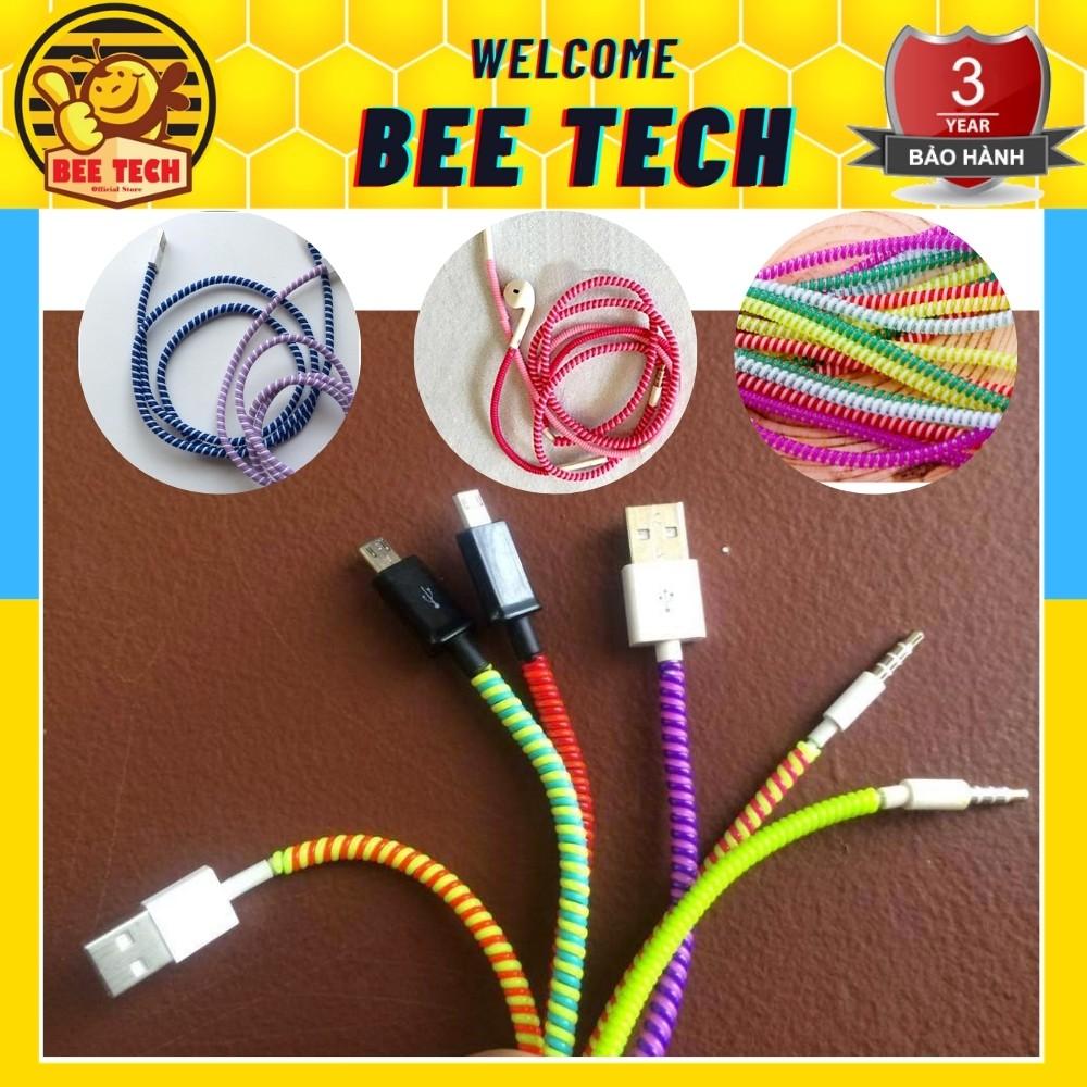 Dây quấn bảo vệ cáp sạc và tai nghe (được chọn màu) - Beetech