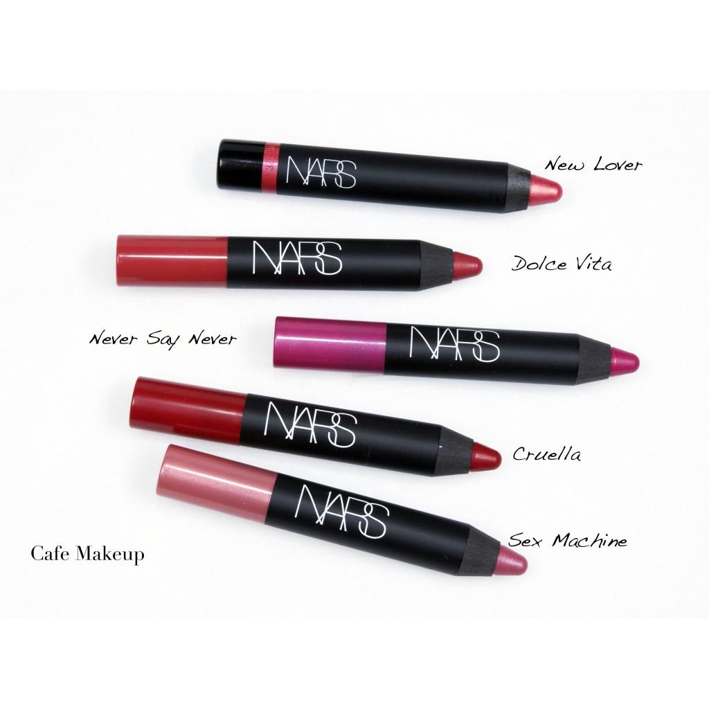 NARS 🍚 Son lì bút chì Velvet Matte Lip Pencil / Satin Lipstick Pencil