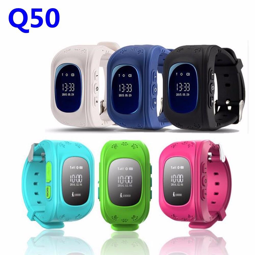 Đồng hồ điện thoại định vị trẻ em Q50 ( 5 màu )