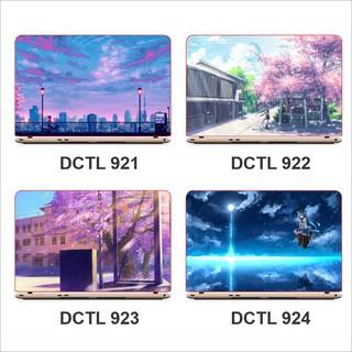 Miếng decal dán mặt lưng Laptop Anime – Mã DCLT 920 – 940
