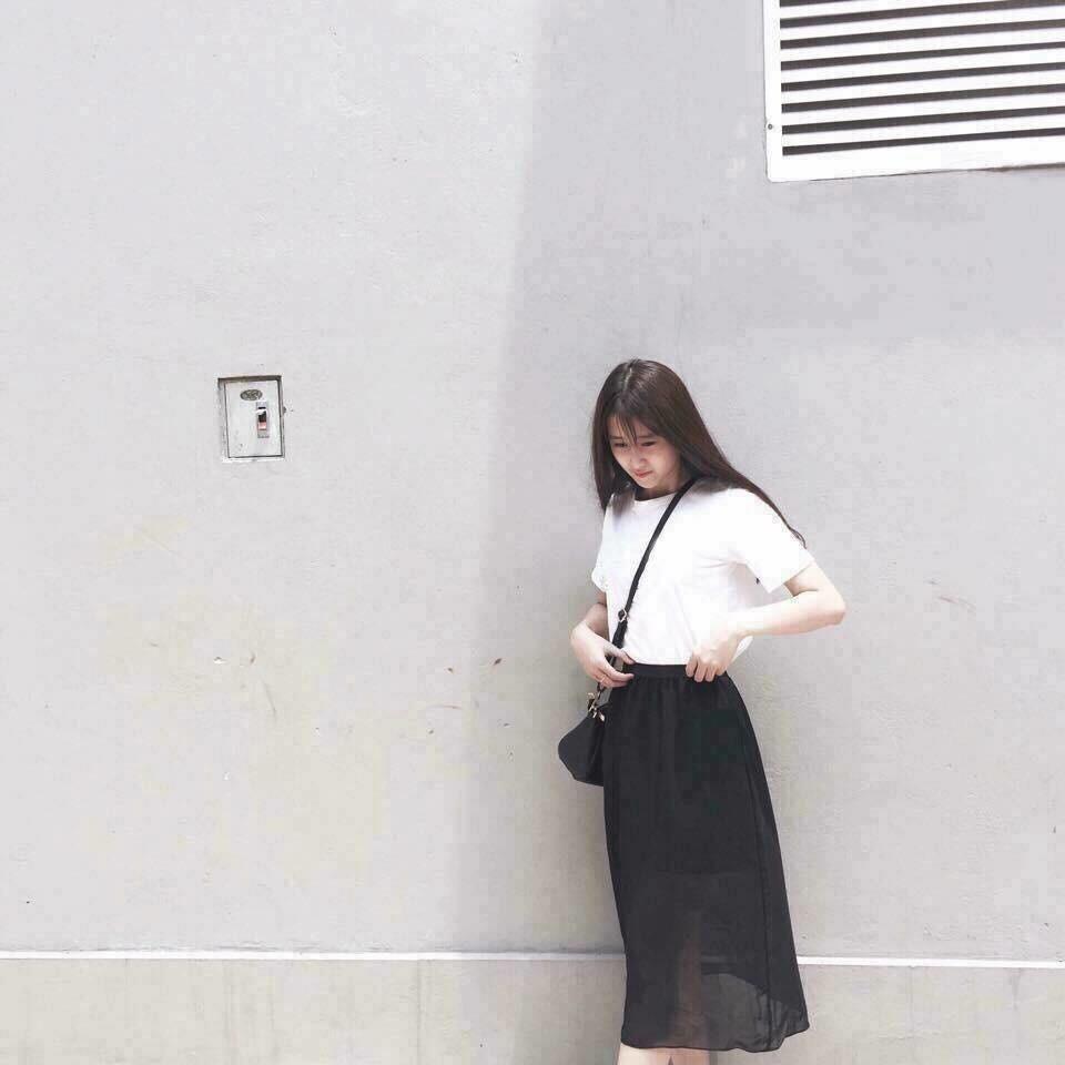 Chân Váy Skirt Chất Voan