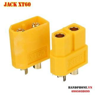 Jack cắm XT60 mạ vàng – Phích nối nguồn điện cho thiết bị điện công suất lớn