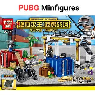 [Nhập mã GAGU10K giảm 10k] Lắp ráp Lego Pubg khu bến cảng trong game 2018 (434 mảnh ghép)