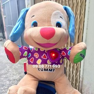 Thú bông gấu Tummy có nhạc cao 37cm