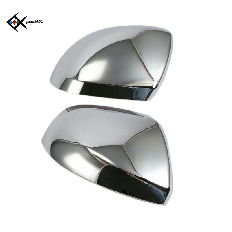 2Pcs Car Rearview Abs Chrome Side Mirror Cover for Mercedes-Benz Vito 2016-2018