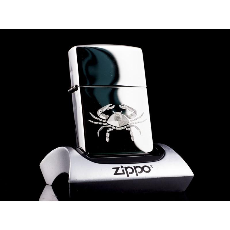 Hộp Quẹt Zippo 12 Cung Hoàng Đạo Cự Giải - Cancer