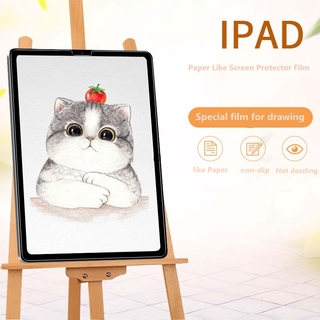 Paper Like Screen Protector Film For iPad Matte PET Anti Glare Painting For iPad Air 1 2 3 Air2 Air3 Pro 9.7 10.2 10.5 11 12.9 inch Mini 7.9 Special For Drawing Feel Like Paper For iPad Pro