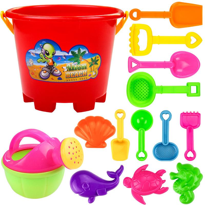 Children beach toys, sand cassia seed tools